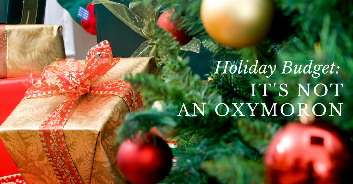 Investment Basics: Holiday Budget: It's Not an Oxymoron