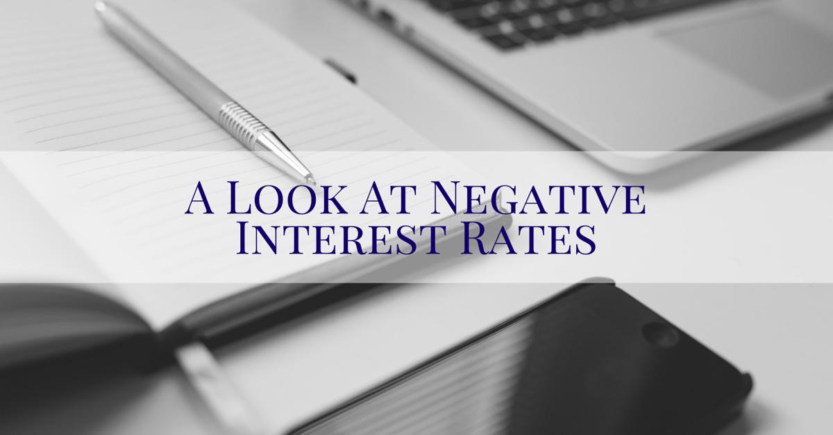 negative interest rates sioux city