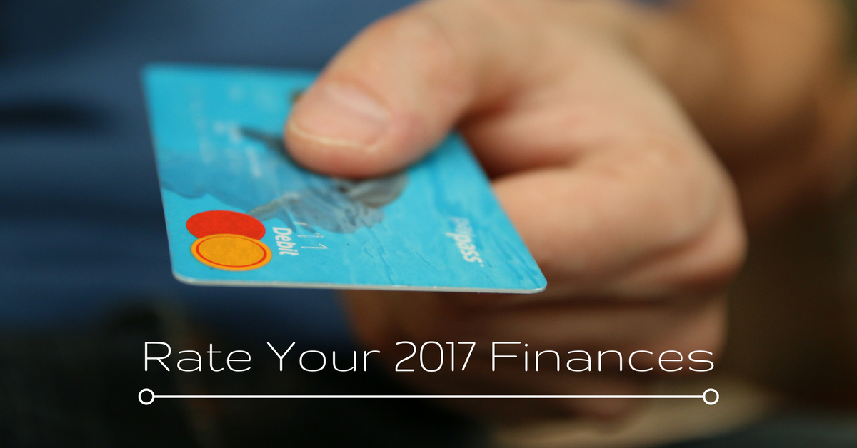 Rate Your 2017 Finances