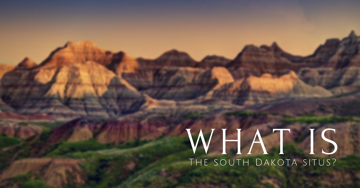 What is the South Dakota Situs?