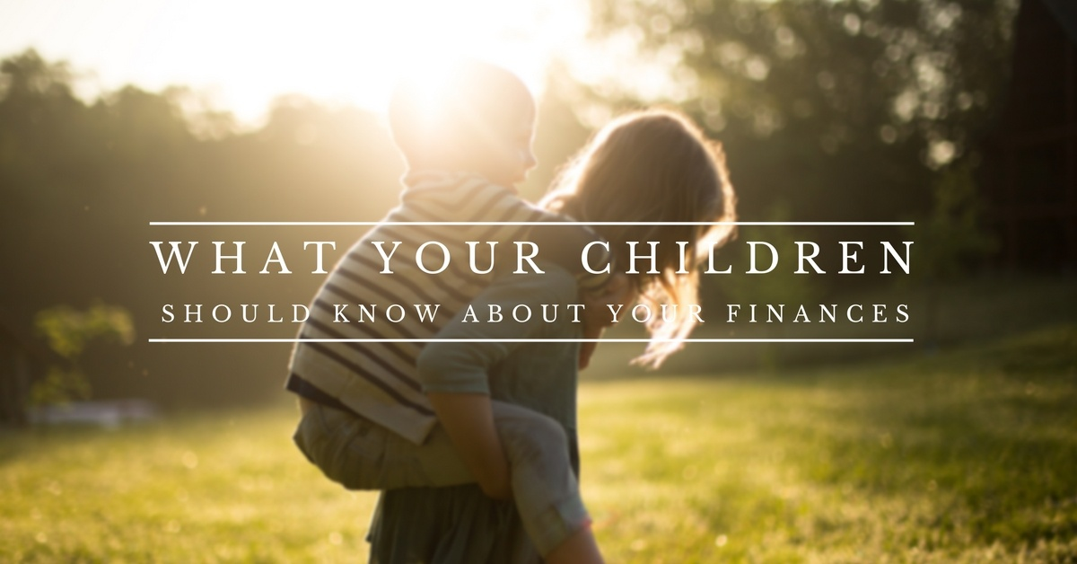 Investment Basics: What Your Children Should Know About Your Finances