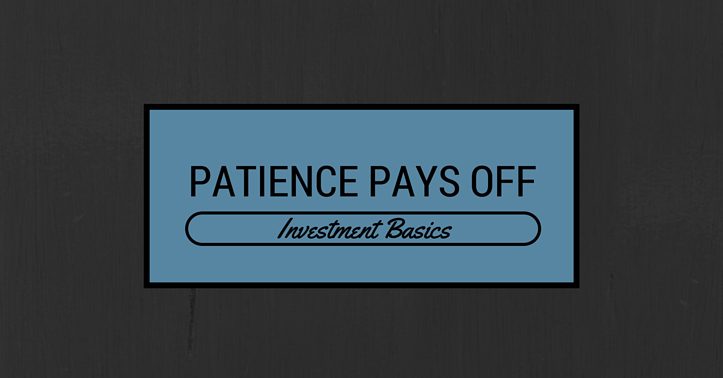 diversification and investing patience