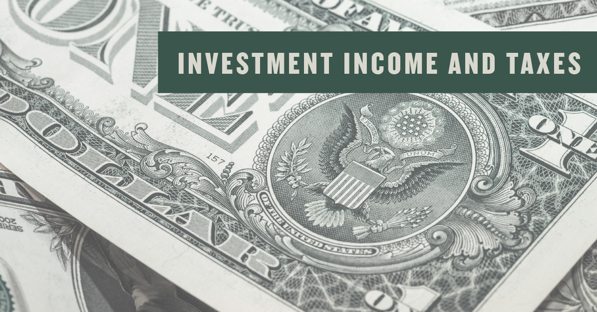Investment Income and Taxes