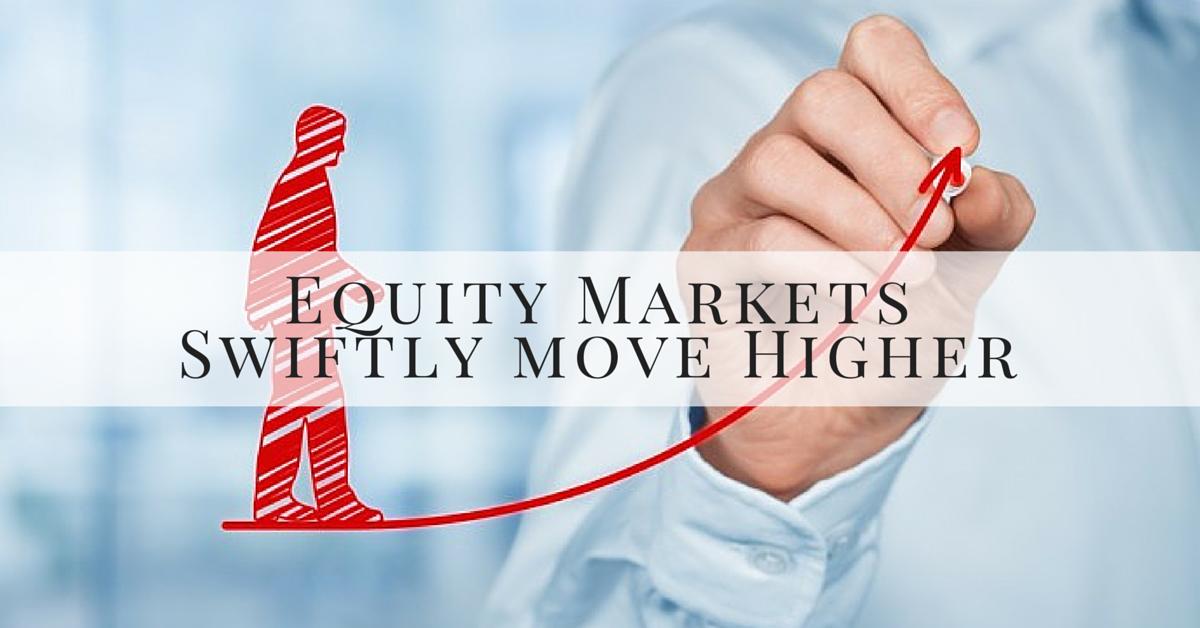 equity markets move upward